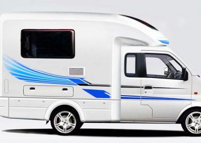 K01-H met camper opbouw